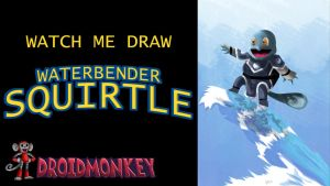 SQUIRTLE AS AWATERBENDER THUMBNAIL/TITLECARD+VIDEO by IDROIDMONKEY