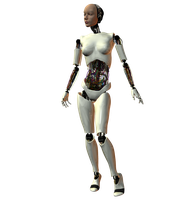 She-Bot : White 003 by Selficide-Stock