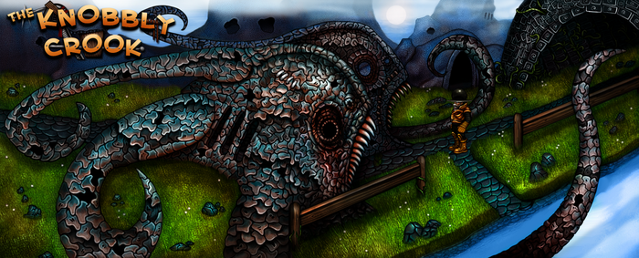 The Knobbly Crook - Fish Gates by RingmasterBent