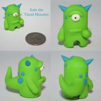 Dale the Timid Monster by TimidMonsters