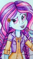 Sunny Flare. My little pony. Friendship games. by au32033