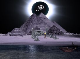 The Pharaoh sails to Orion by DFrog