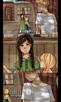 Peeta, Katniss and Prim by Nani-Mi