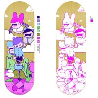 Skateboard Design... by thehermitdesign
