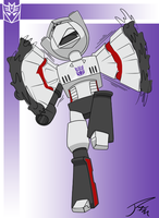 Megatron can't fly by Dipschtick