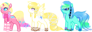 { adopts . 2 } CLOSED by Pony-Infirmary