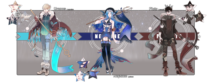 CLOSED | PLANET ADOPT [ neptune open elsewhere ] by pie-adopt