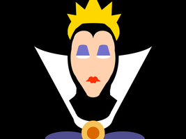 Evil Queen -minimal- by Arnumdrusk