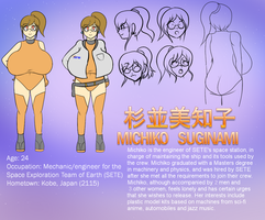 Michiko Reference Sheet by AF1987