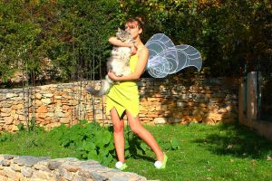 Tinkerbell Cosplay by Rapunzinette