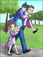Fan Art: Phoenix Wright by o0NeonCola0o