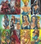 Age of Darkness Sketch cards by huy-truong