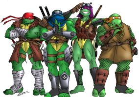TMNT redesign by taresh