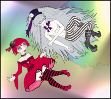Falling into Wonderland WIP by Prepare-Your-Bladder