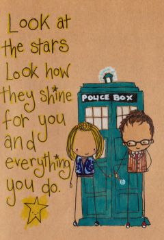Rose Tyler and her Doctor by Pinkie-Perfect