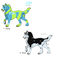 100-8 Themes - Wolf Adopts - Adopted by Feralx1