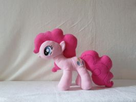 Pinkie Pie MLP Plushie by Irontree1973