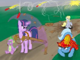 Year of the Braggart - Foiled Again by SeanMirrsen