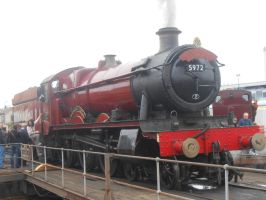 Tyseley: GWR 5972 Olton Hall (Picture 1) by BoomSonic514
