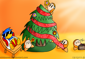 Christmas at Castle Dedede by Nintooner