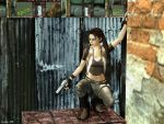 Ready and armed in an alley by Xara-TR