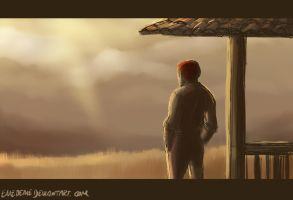 TMM - The young man stands... by emedeme