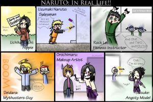 Naruto in real life by robinaker