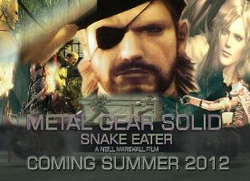snake eater movie poster 2 by videogamemoviemaster