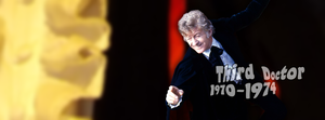 Third Doctor Facebook cover by Leda74