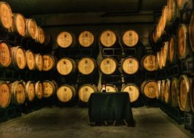 Wine Cellar Barrels by ShawnaMac
