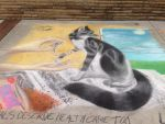 .:Sidewalk Art:. Animal Care and Wellness by lnkFoxy