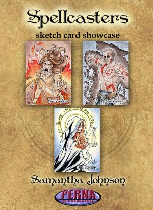 Samantha Johnson Showcase - Spellcasters