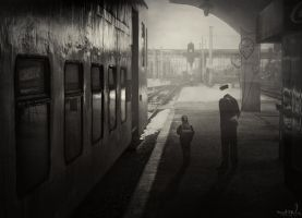 one way ticket by DrumsOfWar