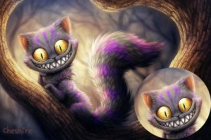 Cheshire Wallpaper by Cupida