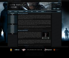 EGL Gaming Template Concept by ImmoRtalMedia