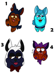 Tattletail Adopts 4 (OPEN) by Electrical--Rodent