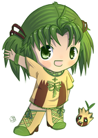 Nico Sunkern Chibi by MarcellenNeppel