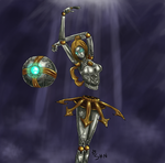Orianna, the Lady of Clockwork by shn57