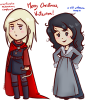 _Gift:R+L=Canon_ by RobicTheEscapist
