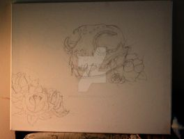 WIP: Day of the Dead by FeatheredPhoto