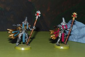 Necron Lords by 12jack12