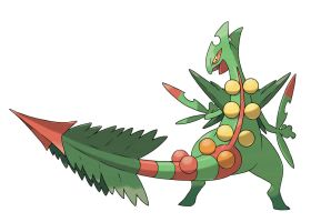 its mega sceptile BITCH!!!! by kingdomheartsventus7