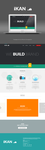 iKAN Flat Design Concept by leoaw