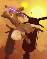 Mace Windu by T-Turner