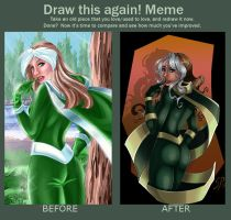 Draw It Again Rogue by SChappell