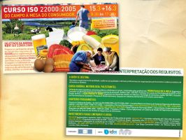 Postal Card ISO22000 by absintho
