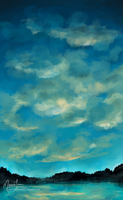 Tall Sky by PuccaNoodles2009