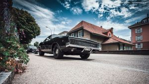 triple black charger by AmericanMuscle