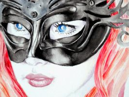 Masquerade_details by RighteousVampire