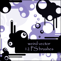 weird vector brushes by szuia